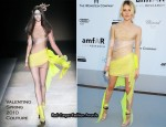 2010 amfAR's Cinema Against AIDS Gala - Dree Hemingway In Valentino Couture