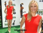 """Shrek Forever After"" LA Premiere - Cameron Diaz In Oscar de la Renta"