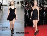 "2010 Cannes Film Festival: ""The Princess Of Montpensier"" Premiere - Eva Herzigova In Dolce & Gabbana"""