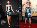 """Letters To Juliet"" LA Premiere - Amanda Seyfried In RM by Roland Mouret"