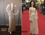 """Sex And The City 2″ London Premiere – Kristin Davis In Vintage Norman Norell From Decades"