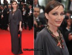 "2010 Cannes Film Festival: ""Outside Of The Law"" Premiere – Kristin Scott Thomas In Lanvin"