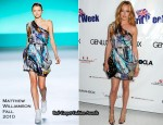 2nd Annual Genlux Britweek Designer of the Year Fashion Awards - Cat Deeley In Matthew Williamson