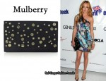 In Cat Deeley's Closet - Mulberry Oversized Ava Suede Clutch