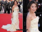 "2010 Cannes Film Festival: ""Wall Street: Money Never Sleeps"" Premiere – Michelle Yeoh In Roberto Cavalli Couture"