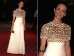 2010 White House Correspondents' Association Dinner – Kristin Davis In Balmain Couture