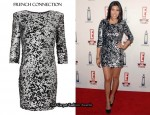 In Kourtney Kardashian's Closet - French Connection Princess Dress