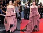 "2010 Cannes Film Festival: ""The Exodus - Burnt By The Sun"" Premiere - Milla Jovovich In Louis Vuitton"