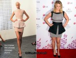 A Night Of Fashion & Technology With LG Mobile Phones - Jessica Simpson In Victoria Beckham Collection