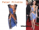 In Anouck Lepère's Closet - Peter Pilotto Sleeveless Sculpted Dress
