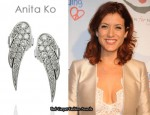 In Kate Walsh's Closet - Anita Ko 18-Karat White Diamond Earrings