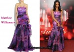 In Simone James' Closet - Matthew Williamson Printed Gown