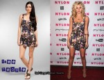 In Alyson Michalka's Closet - Free People Sweet Springtime Romper