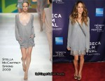 """Ultrasuede: In Search of Halston"" New York Premiere - Sarah Jessica Parker In Stella McCartney"