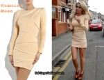 In Alex Curran's Closet - Camilla and Marc Constantine Frock Padded Dress