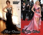 Best Dressed Of The Week - Cheryl Cole In Roberto Cavalli & Elizabeth Banks In Georges Chakra Couture