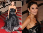 2010 Met Costume Institute Gala – Mila Kunis In Vera Wang
