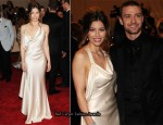 2010 Met Costume Institute Gala - Jessica Biel In Ralph Lauren