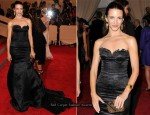 2010 Met Costume Institute Gala - Kristin Davis In Archival Rochas For Decades