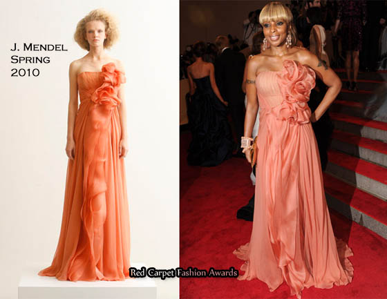mary j blige hairstyle pictures 2010. Mary J. Blige looked amazing
