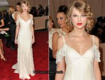 2010 Met Costume Institute Gala - Taylor Swift In Ralph Lauren