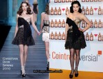 Cointreau Madrid Photocall - Dita von Teese in Christian Dior