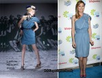 The American Cancer Society's Choose You Launch Luncheon - Ellen Pompeo In Lanvin & Stella McCartney