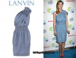 In Ellen Pompeo's Closet - Lanvin Denim Dress