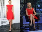 """The Marriage Ref"" - Gwyneth Paltrow In Victoria Beckham Collection"