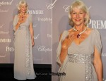 2010 Cannes Film Festival: Chopard Trophy Party - Helen Mirren In Elie Saab Couture