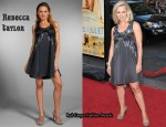 In Jennie Garth's Closet - Rebecca Taylor Paillette Dress