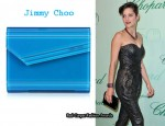 In Marion Cotillard's Closet - Jimmy Choo Candy Acrylic Clutch