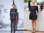 "2010 Cannes Film Festival: ""Blue Valentine"" Premiere & Photocall - Michelle Williams In Chanel Couture & Suno"