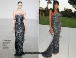 2010 amfAR's Cinema Against AIDS Gala – Naomi Campbell In L'Wren Scott