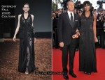 """2010 Cannes Film Festival: """"Wall Street: Money Never Sleeps"""" Premiere – Naomi Campbell In Givenchy Couture"""