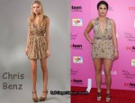 In Nikki Reed's Closet - Chris Benz Garden Dress