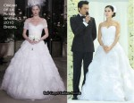 Ko So-Young Wears Oscar de la Renta On Her Wedding Day