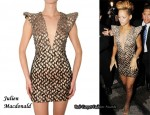 In Rihanna's Closet - Julien Macdonald Pagoda Crystal Dress