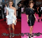 Best Dressed Of The Week - Scarlett Johansson In Armani Privé & Jennifer Lopez In Lanvin