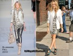 "The ""Late Show With David Letterman"" - Sarah Jessica Parker In Blumarine"