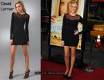 In Stephanie Pratt's Closet - David Lerner Long Sleeve Mesh Dress