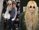 Taylor Momsen Channels Her Inner John Lennon At BBC Radio 1
