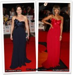 Who Wore Notte by Marchesa Better? Davina McCall or Alexandra Burke