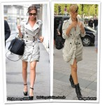 Who Wore Burberry Prorsum Better? Victoria Beckham or Rihanna