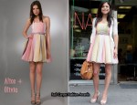 In Bethenny Frankel's Closet - Alice + Olivia Lexi Strapless Ballerina Dress