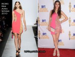 2010 MTV Movie Awards - Victoria Justice In BCBG Max Azria
