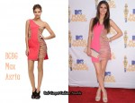 In Victoria Justice's Closet - BCBG Max Azria One Shoulder Dress