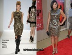 """The Karate Kid"" LA Premiere - Taraji P. Henson In Naeem Khan"