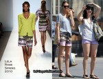 Runway To Sidewalk - Whitney Port In Lela Rose