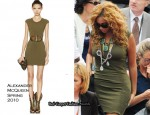 Men's French Open Final - Beyonce Knowles In Alexander McQueen